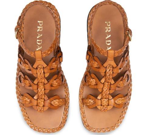 sandália prada
